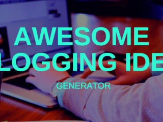 blogging-idea-generator