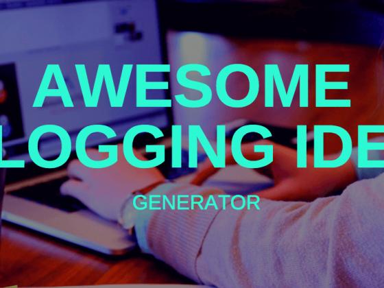 blogging-idea-generator