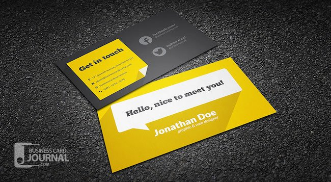 20 amazing free creative business card templates flat design freelance individual business card template with accmission Gallery