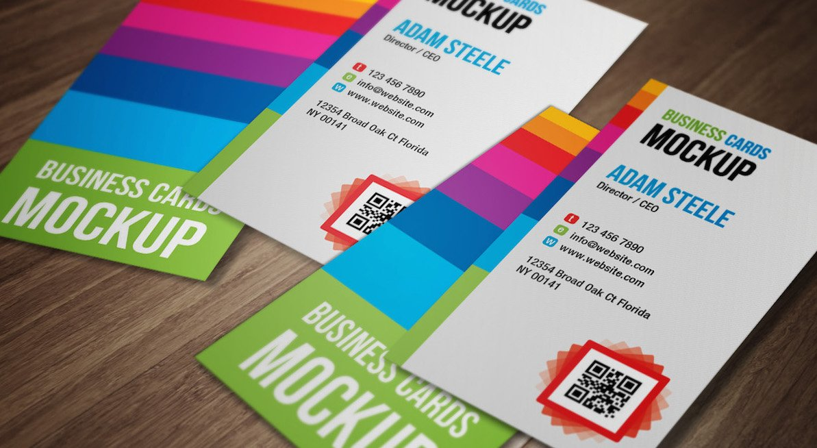 20 amazing free creative business card templates reheart Images