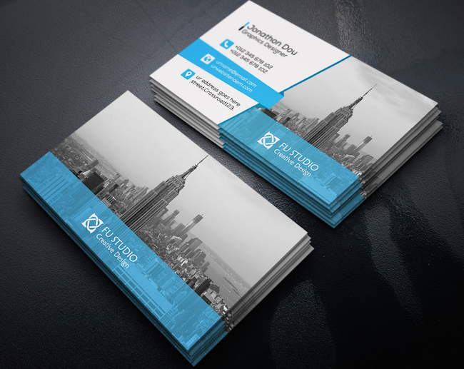 20 amazing free creative business card templates free business card design reheart Images