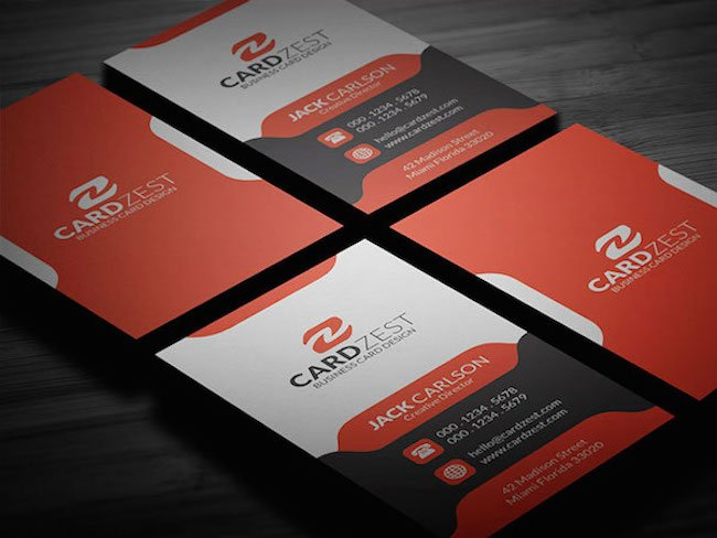 Amazing Free Creative Business Card Templates - Business card design template free