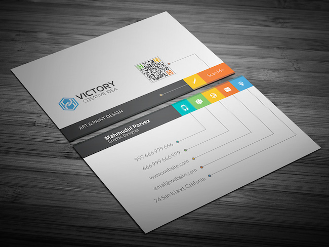 20 amazing free creative business card templates for Creative business card templates free