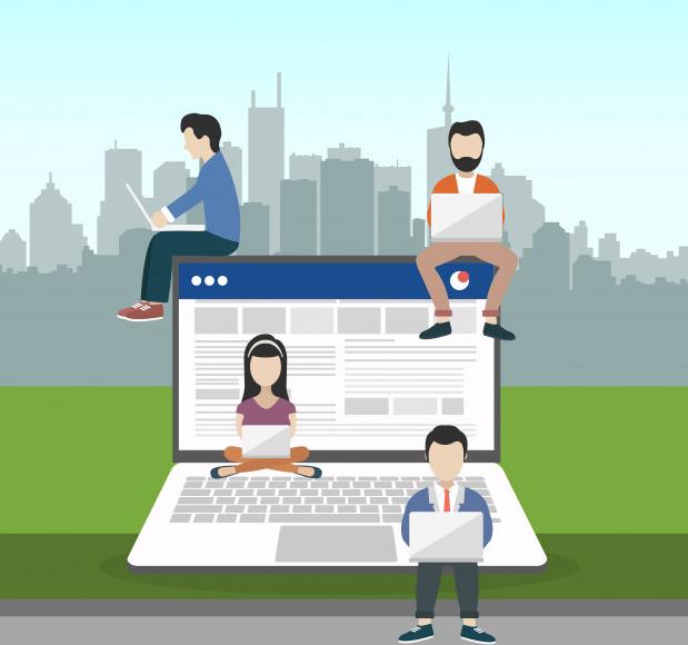 Influencer blogging