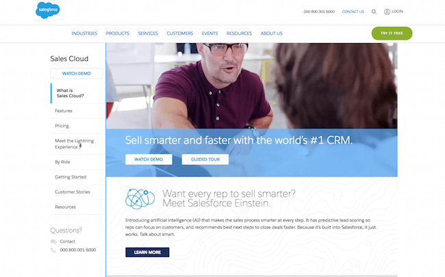 Salesforce.com Sales Cloud