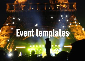 best-event-templates