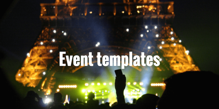 best-event-templates