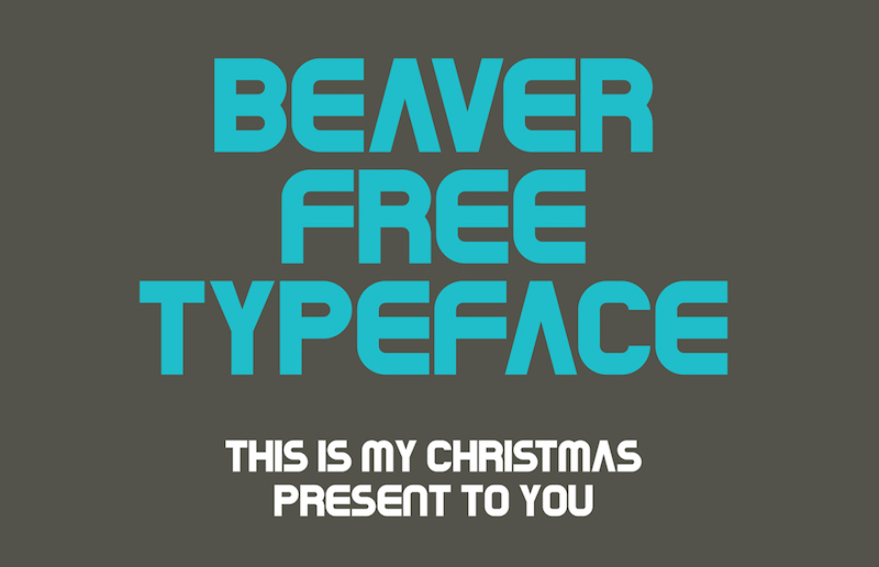 Beaver Typeface Font