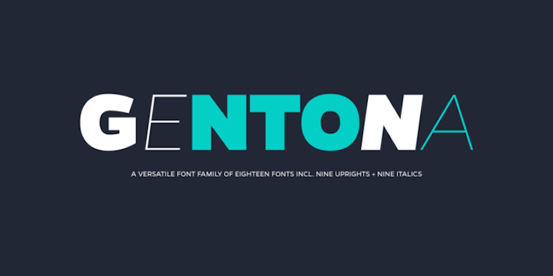 Gentona Font