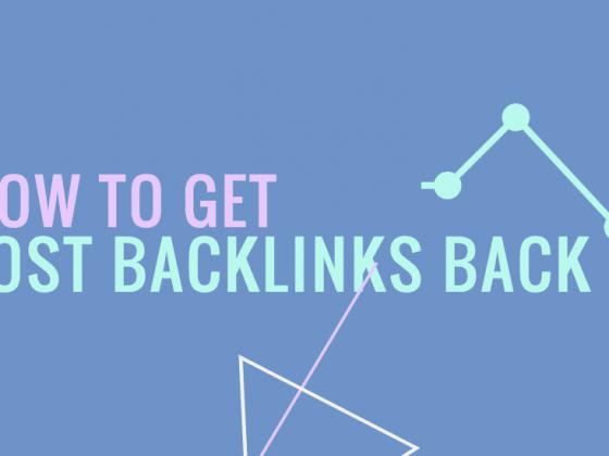 Get Backlinks Back