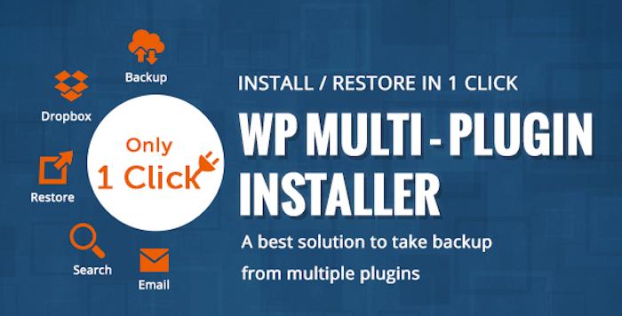 Multi Plugin Installer Plugin backup and restore