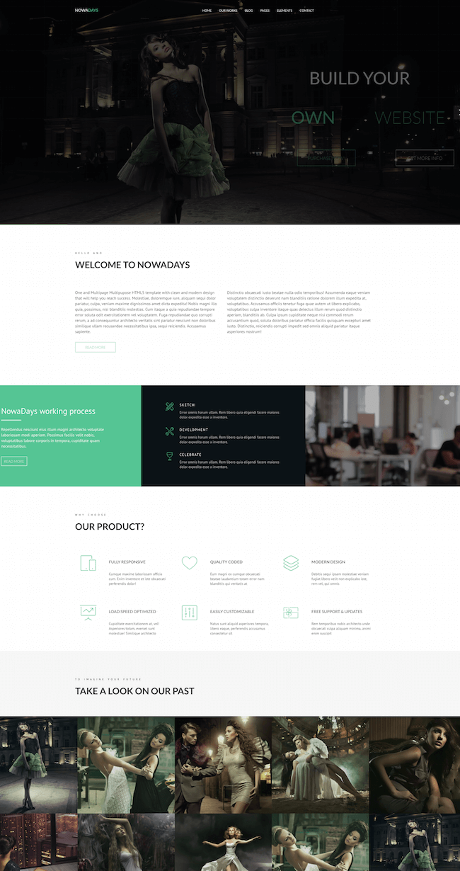 NowaDays Agency Joomla Theme