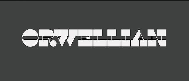 Orwellian Font