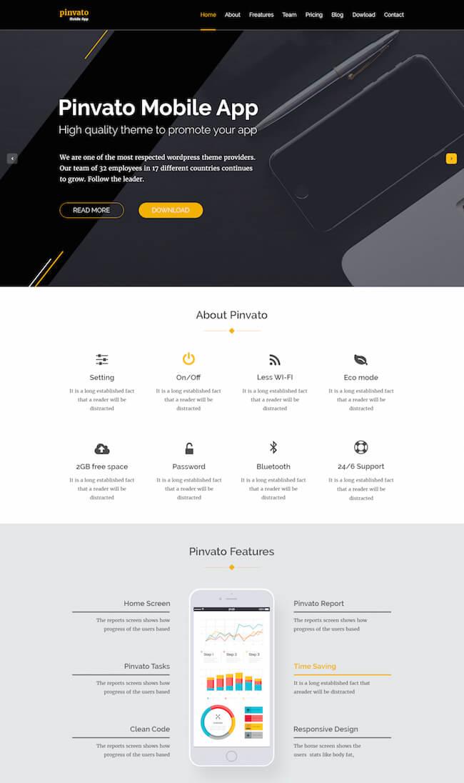 Pinvato Mobile App
