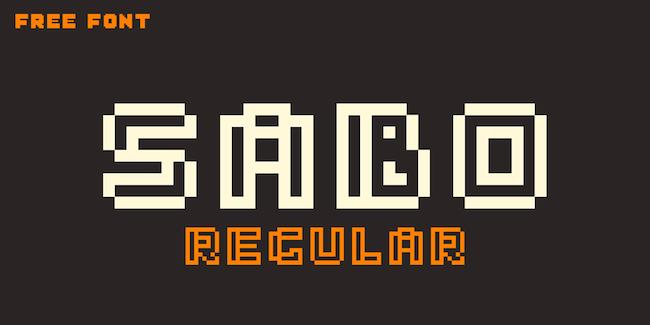 Sabo Vintage Font