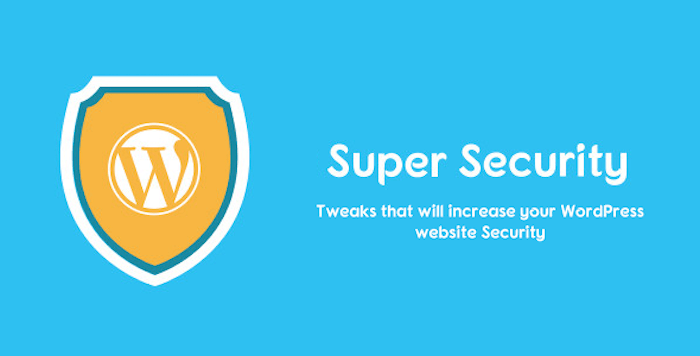 Super Security All in One WordPress Security