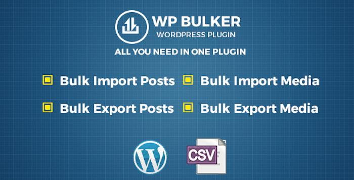 WP Bulker Ultimate CSV Importer & Exporter