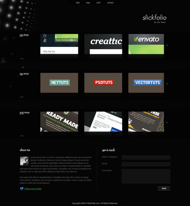 Web Designer Creative Portfolio