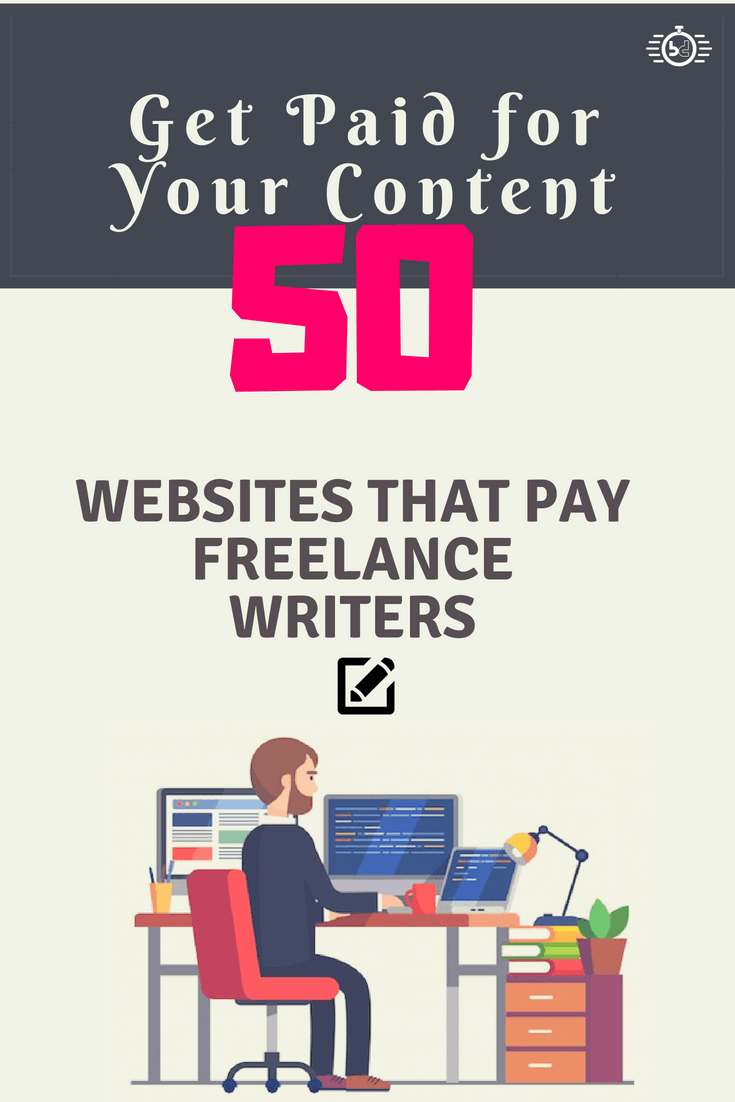 Websites that pay Freelance Writers