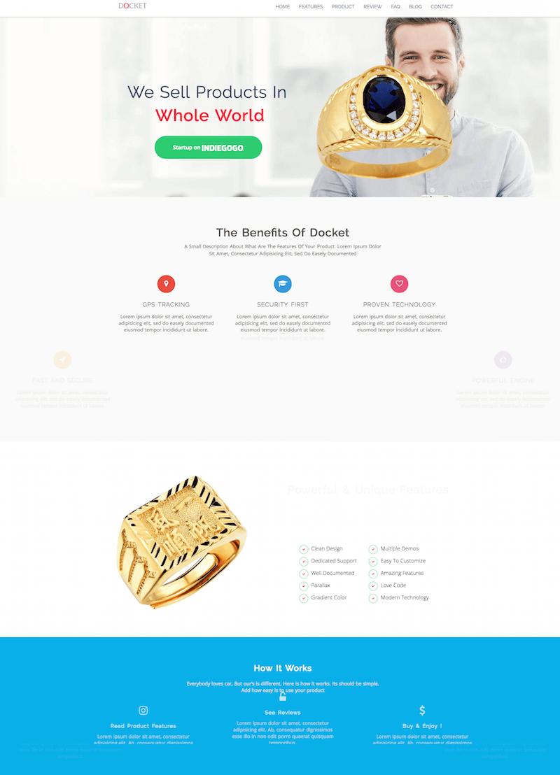 docket wordpress theme