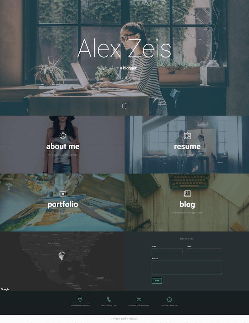 ucard Personal Portfolio Theme