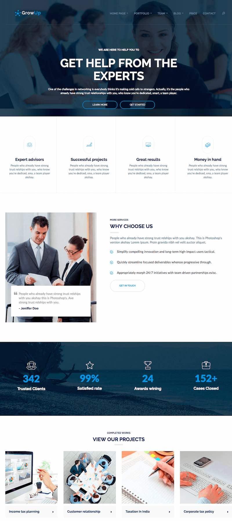 GrowUp Business & Financial