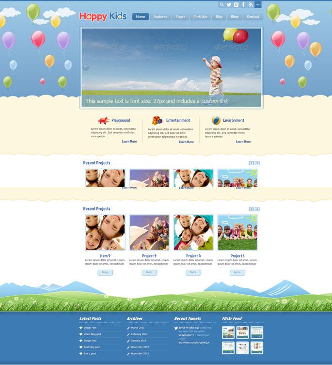 Happy-Kids-wordpress-themes