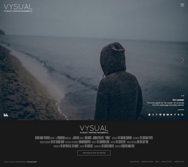 VYSUAL Film Campaign WP Theme