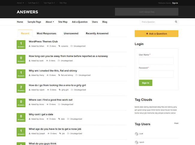answers-theme