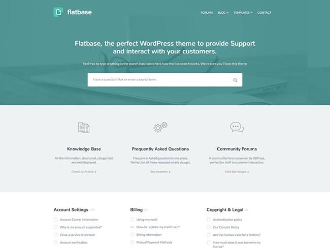 Flatbase-wiki-WordPress-theme