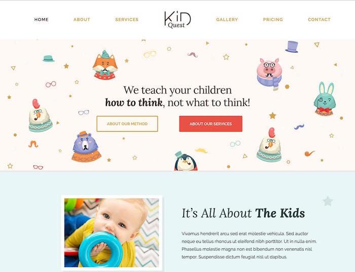 kid-quest-wordpress-theme