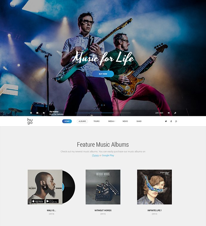 music-sound-wordpress-website
