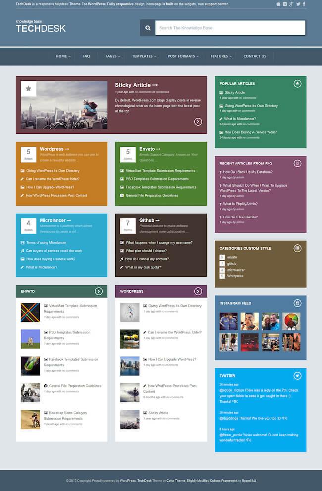 TechDesk WordPress Theme