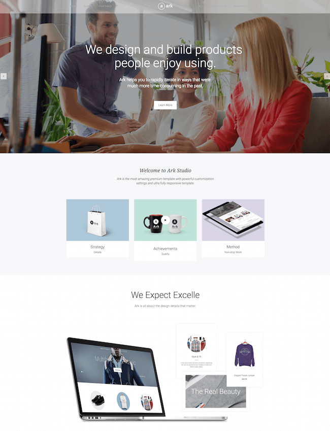 The Ark WooCommerce Theme