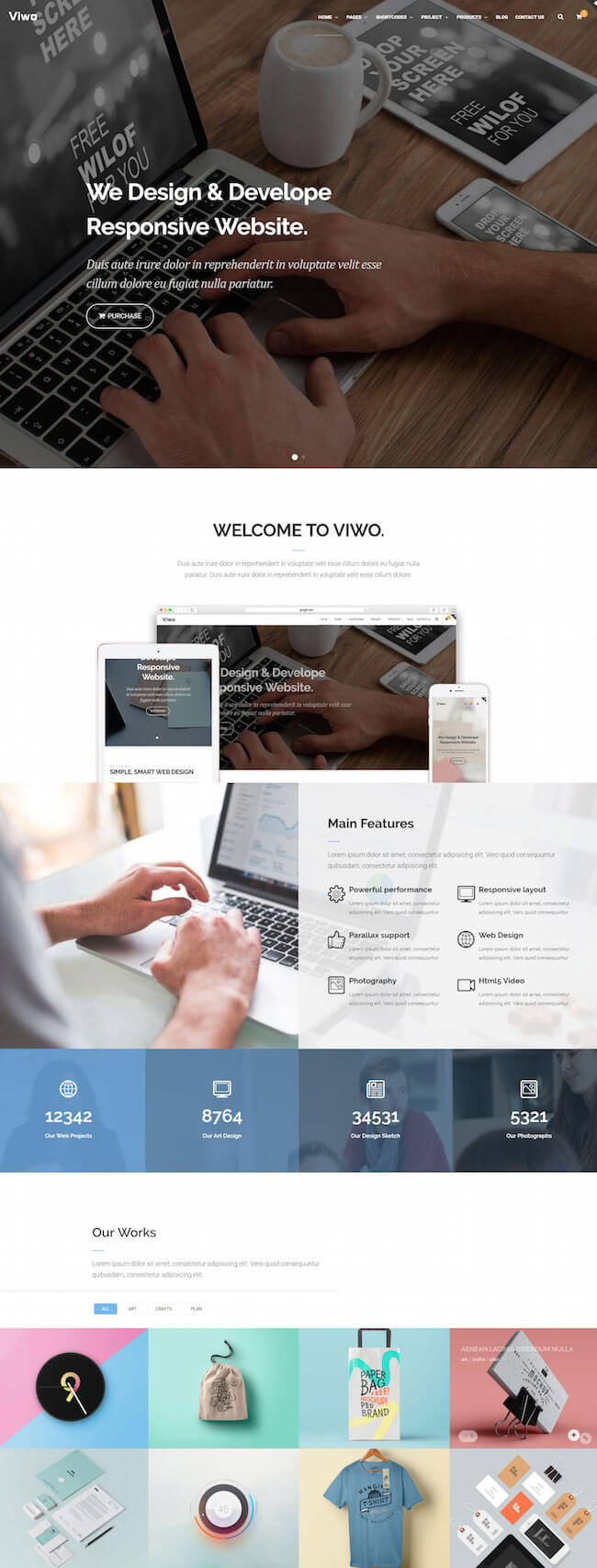 Viwo Multipurpose Theme