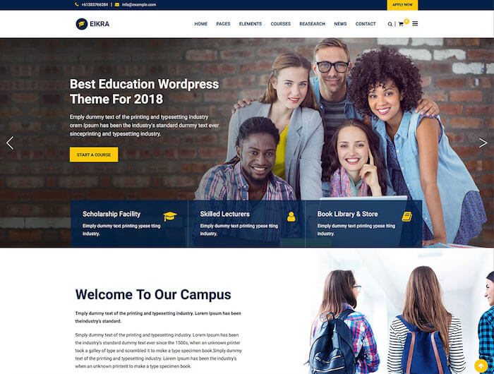 eikra-education-wordpress-theme