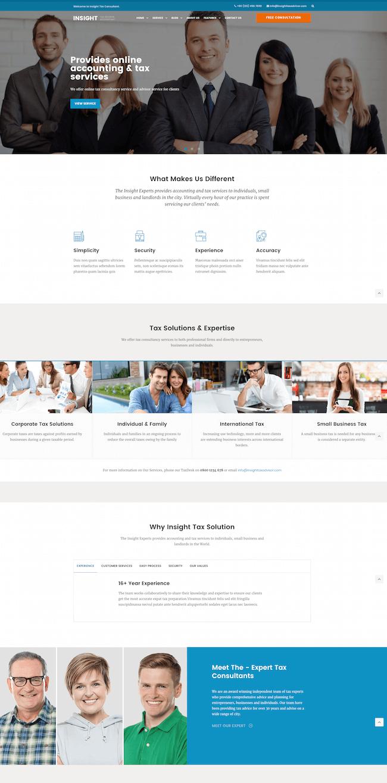 Financial Advisor WordPress Theme