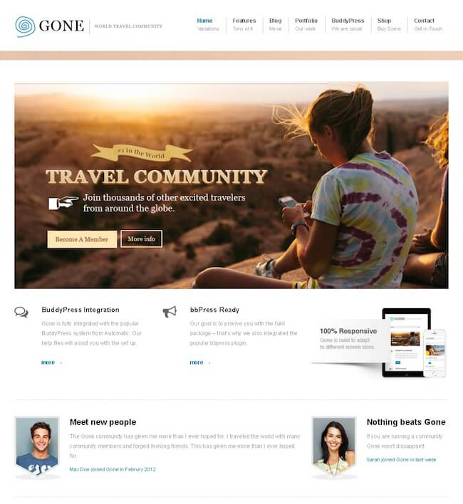 gone-buddypress-theme
