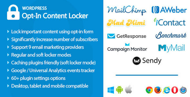 Opt-in Content Locker