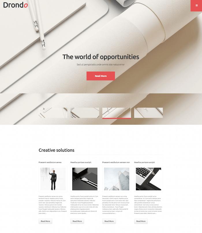 Drondo WordPress Theme