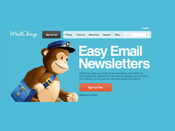 mailchimp with blog