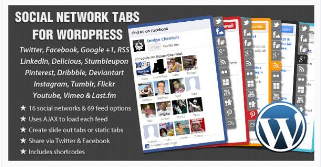 social network tabs