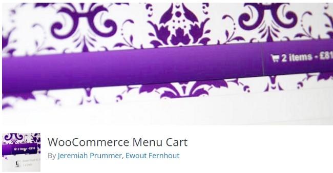 menu cart