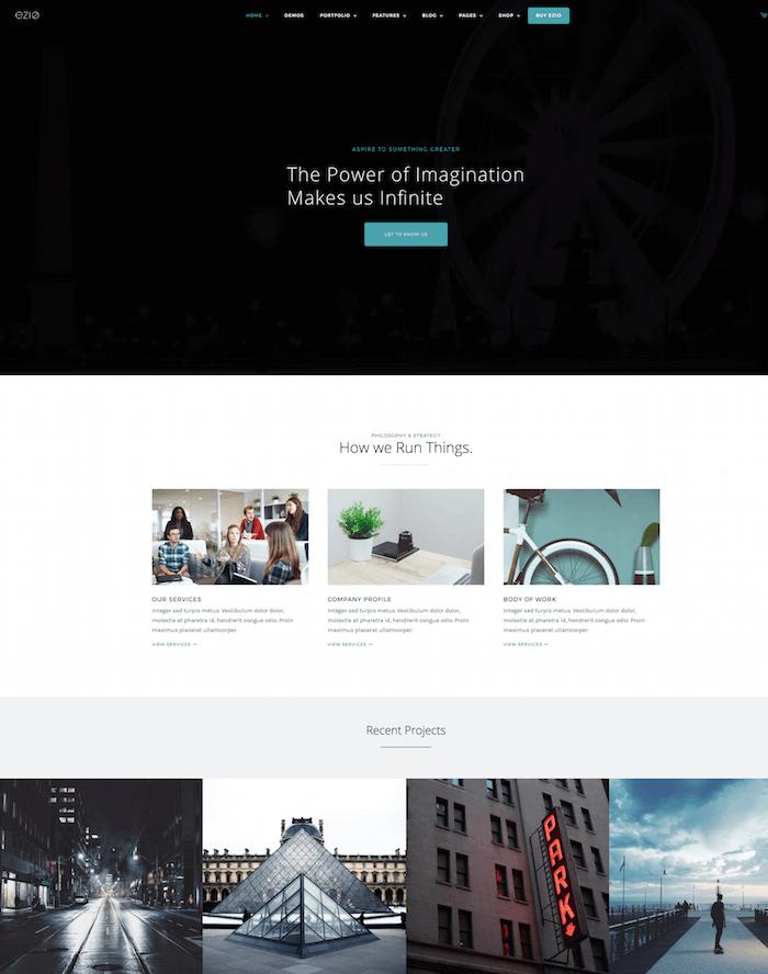 EZIO WordPress Theme