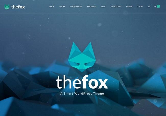 the fox wp theme