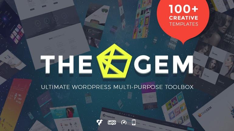The gem wp theme