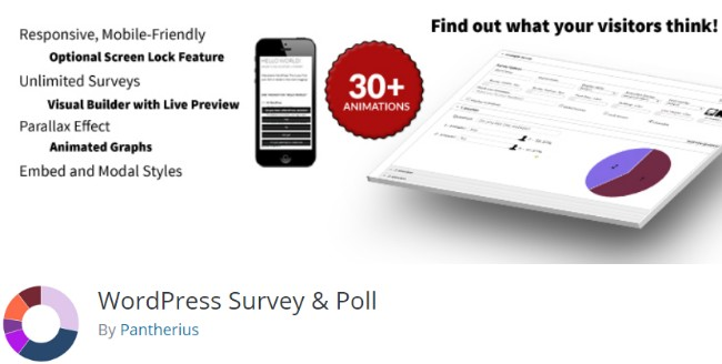 WordPress survey and poll