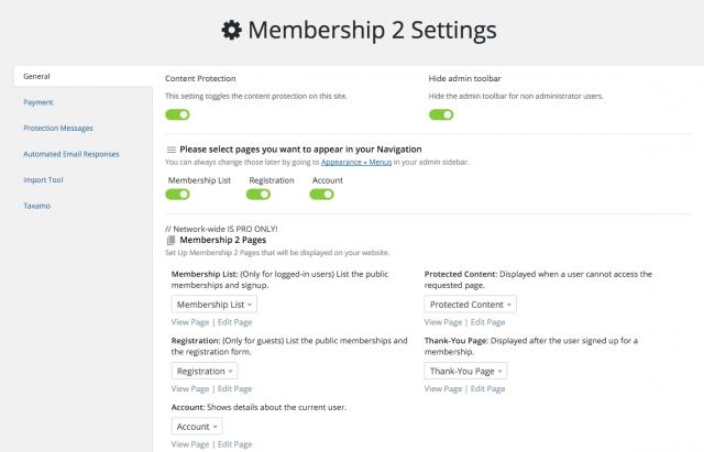 Membership 2 from WPMU Dev