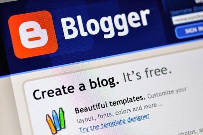 blogger free blog