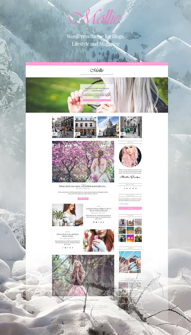 wp magazine theme